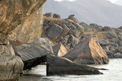 głaz dużych skał obraz stock