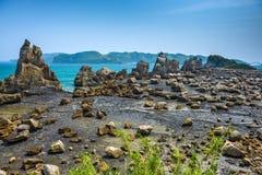 Głazy Kumano, Japonia zdjęcia stock