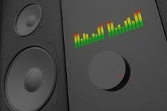 głośna muzyka Zdjęcie Stock