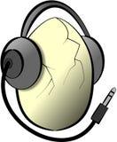 głośna muzyka royalty ilustracja