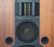 Głośni głośnikowego systemu szczegóły fotografia royalty free
