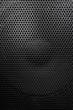 Głośnik siatka z round otwarciami Zdjęcia Stock