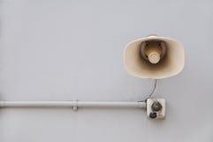 głośnik wspinająca się ściana obraz royalty free