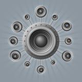 Głośniki Obraz Stock