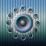 Głośniki Zdjęcie Stock