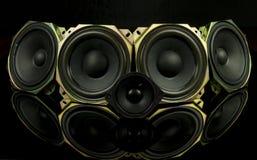 głośniki Obrazy Royalty Free