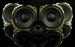 głośniki Zdjęcia Stock
