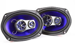 głośniki stereo Zdjęcia Royalty Free