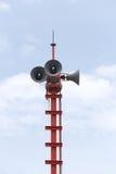Głośniki transmitujący alarmy obraz royalty free