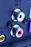 Głośnikowe dźwigarki Fotografia Stock