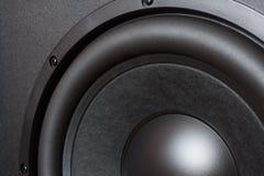 Głośnikowy basowy kierowca Obrazy Stock