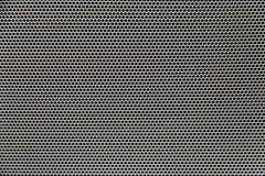 Głośnikowy grill tekstury tło Obrazy Royalty Free