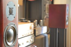 Głośnikowy system Zdjęcie Stock