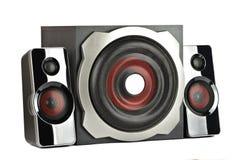 Głośnikowy system z subwoofer Zdjęcie Stock