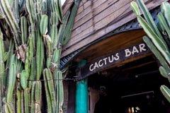 Głośny bar przy fullmoon przyjęcia plażą zdjęcia royalty free