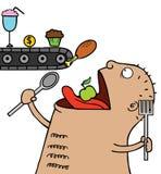 Głodna Istota ilustracji