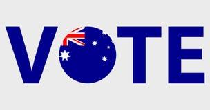 Głosować symbolu wektorowego projekt royalty ilustracja