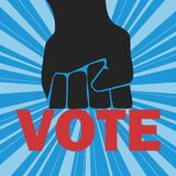 głosowania ilustracja wektor