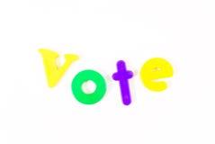 głosowanie fotografia stock