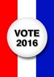 Głosowanie 2016 royalty ilustracja