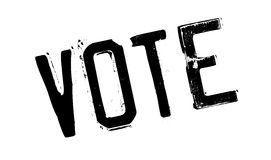 Głosowanie pieczątka ilustracja wektor