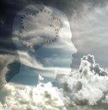 głowa biegów Fotografia Royalty Free