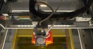 Głowa 3d drukarka w akci zbiory
