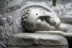 Głowa duży Buddha obraz stock