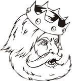 Głowa królewiątko Zdjęcia Stock