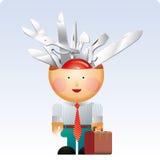 głowa nóż Obraz Royalty Free