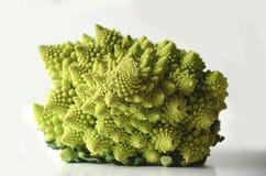 Głowa romanesco romańszczyzny lub kalafioru brokułów Brassica Oleracea, gronika cultivar Zdjęcie Stock