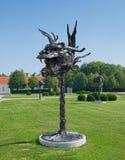 Głowa smok od Chińskiego zodiaka w Wiedeń, Zdjęcie Royalty Free