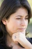 głowa strzały kobieta Fotografia Royalty Free