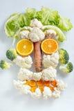 Głowa warzywa obrazy stock