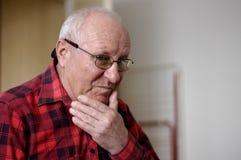 głowiaści ludzi starszych łysi Fotografia Stock