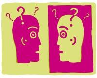 głowy dwa ilustracja wektor