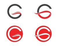 G商标和标志模板象 库存图片