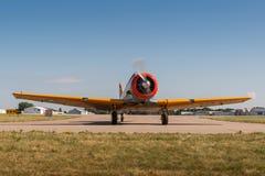 AT-6G德克萨斯人轮 库存照片