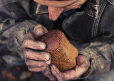 Głód i ubóstwo fotografia royalty free