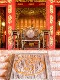 Główna brama Phra Thinang Wehart Chamrun Fotografia Stock