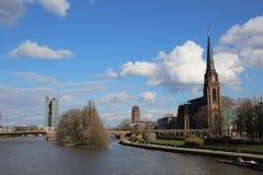 Główna rzeka, Niemcy Fotografia Stock