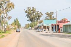 Główna ulica Niewoudtville Obraz Stock