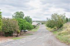 Główna ulica w Wolwefontein Obraz Stock