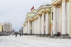 Główny dworzec w Ekaterinburg Rosja 2016 Fotografia Royalty Free