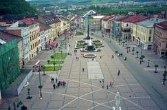 Główny plac, Banska Bystrica, Sistani Fotografia Stock