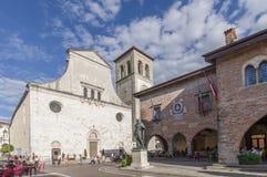 Główny plac Cividale Del Friuli Zdjęcia Royalty Free