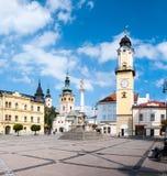 Główny plac SNP, Banska Bystrica Fotografia Stock