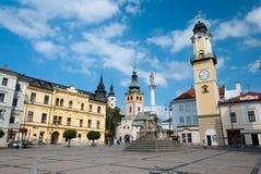 Główny plac SNP, Banska Bystrica Zdjęcia Royalty Free