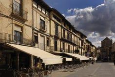 Główny plac Toro; Zamora prowincja; Hiszpania; Castilla y Leon Obrazy Stock