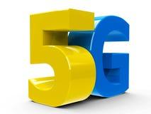 5G εικονίδιο isometry Στοκ φωτογραφία με δικαίωμα ελεύθερης χρήσης